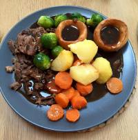 My mum's roast dinner