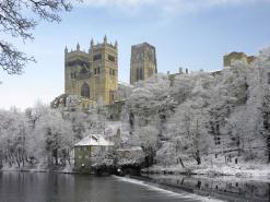 University of Durham - snow